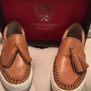 Vince Camuto leather shoes.
